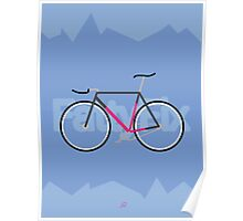 Fattyfix - fixie poster by JeppeRIngsted Poster