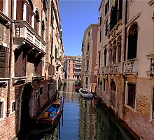 Canal in Venice 1 by David Freeman