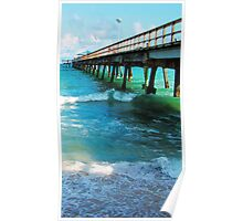 Pier in Fort Lauderdale Poster