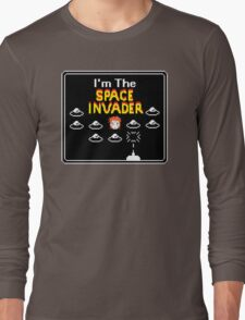 Moonage Space Invader Long Sleeve T-Shirt