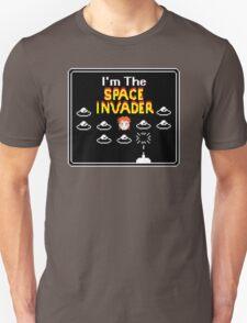 Moonage Space Invader Unisex T-Shirt