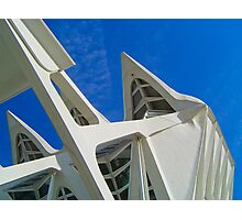 City of Arts and Sciences of Valencia, Spain Photographic Print