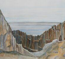 Whale Watchers at Elephant Rock by JennyArmitage