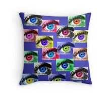 The Eyes Have It! Throw Pillow