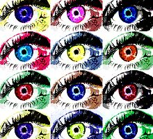 Eyes Squared by colleen e scott
