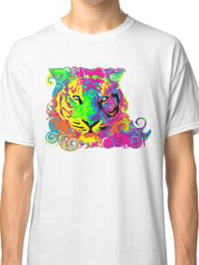 PSYCHEDELIC TIGER Classic T-Shirt