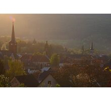 Niederbronn churches Photographic Print