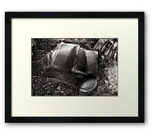 Real History Framed Print