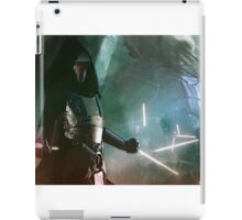Darth Revan and the Revanchists  iPad Case/Skin