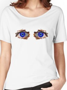 Double Vision Women's Relaxed Fit T-Shirt