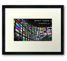 Seattle Rubik Framed Print
