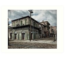 New Orleans Old-Absinthe House on Bourbon Street Circa 1903 Art Print