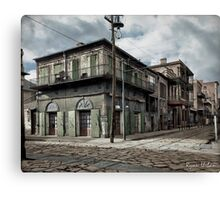 New Orleans Old-Absinthe House on Bourbon Street Circa 1903 Canvas Print
