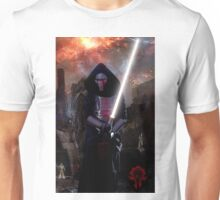 Darth Revan in Jedi Temple Unisex T-Shirt
