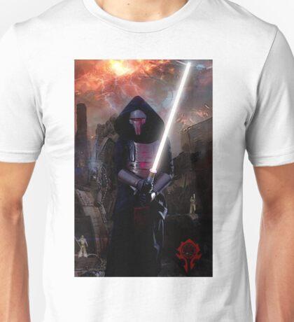 Darth Revan in Jedi Temple Unisex T-Shirt