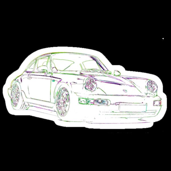Porsche 911 RS (964) by supersnapper