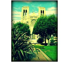 SF Cathedral Photographic Print