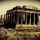 Parthenon Print by parakeetart