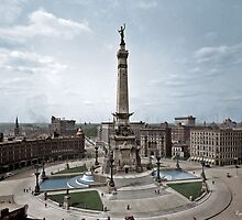 Soldiers' and Sailors' Monument, Indianapolis, Indiana, circa 1907. by ryanurban