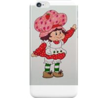 Strawberry Shortcake 80's iPhone Case/Skin