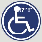 DISABLED WHEELCHAIR BAD LUCK by SofiaYoushi