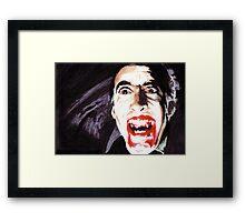 The Horror of  Dracula Framed Print