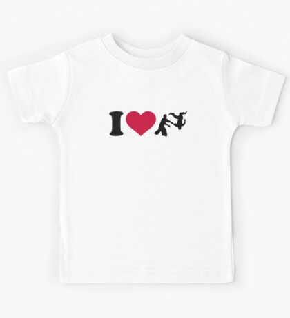 I love Aikido Kids Tee