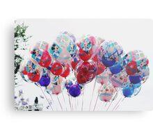 Disneyland 60th anniversary balloons Metal Print