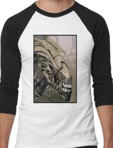 Alien Queen Men's Baseball ¾ T-Shirt