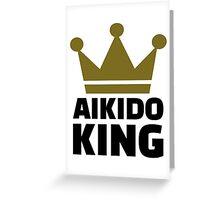 Aikido King Greeting Card