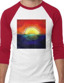 SunburntSky Men's Baseball ¾ T-Shirt