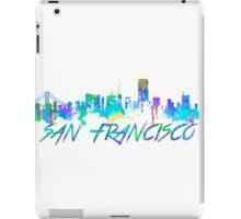 San Francisco Skyline in water colour iPad Case/Skin