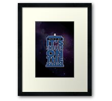 It's Smaller on the Outside - Doctor Who Framed Print