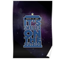 It's Smaller on the Outside - Doctor Who Poster