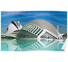 City of Arts and Sciences of Valencia, Spain Poster