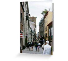 Rue de la Paul Greeting Card