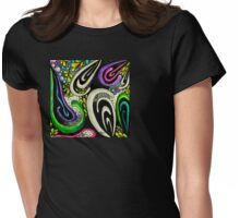 twists and turns Womens Fitted T-Shirt