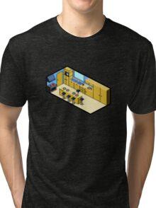 KITCHEN PIXEL ART Tri-blend T-Shirt