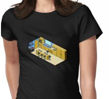 KITCHEN PIXEL ART Womens Fitted T-Shirt