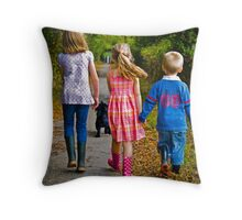 Unity And Utility! Throw Pillow