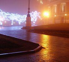 Odessa - In The Mist - Theatre by Nina Zhiltsova