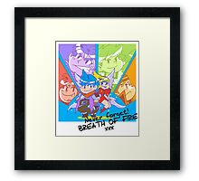 Never forget Breath of Fire! Framed Print