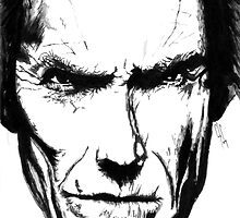 Clint Eastwood by Zombie Rust