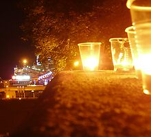 Odessa - In The Night - Commemorating MJ 2 by Nina Zhiltsova