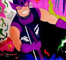 Marvel Classic Hawkeye 80's by RyanLoesch