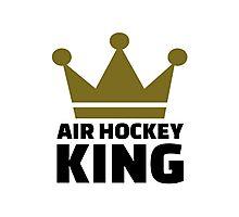 Air hockey King Photographic Print