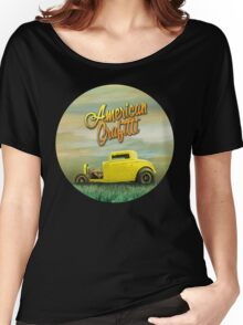 American Grafitti Women's Relaxed Fit T-Shirt