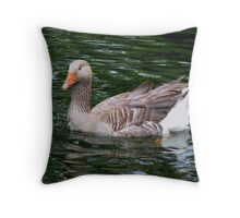 Chillin in the Water! Throw Pillow