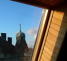 Lvov - In The Window 3 by Nina Zhiltsova