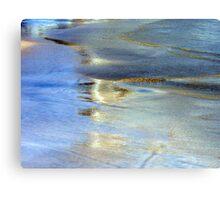 Abstract Glowing Seashore Canvas Print
